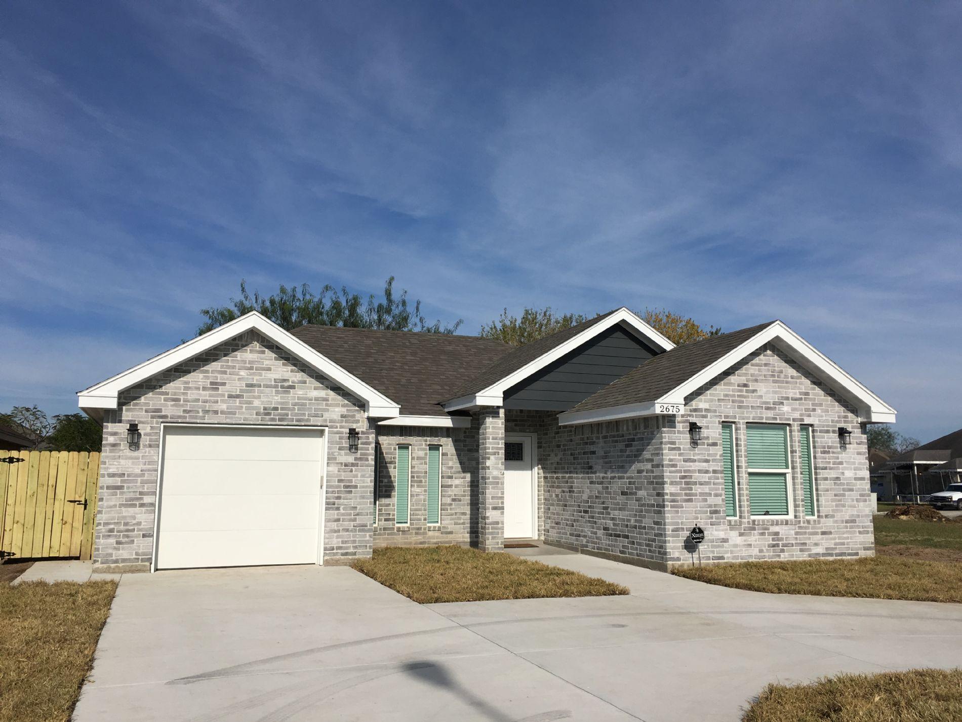 Beautiful New House 2675 Las Brisas Blvd Brownsville Tx 78520