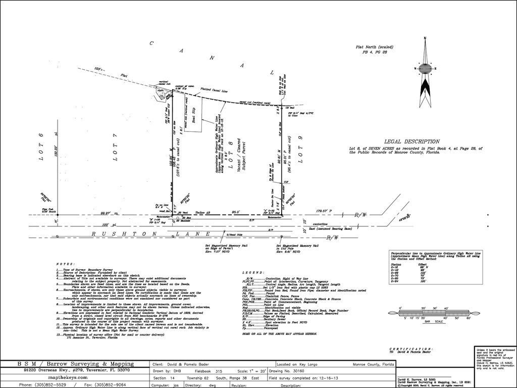 Largo Fl Elevation Map.Canal Front Lot With Boat Slip Cutout Gated Neighborhood High